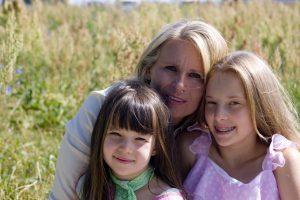 familie en knieartrose
