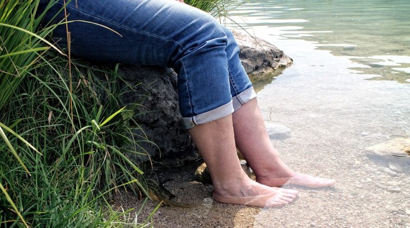 Voeten water knieartrose