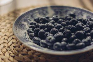 gezonde voeding bosbessen