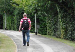 wandelen en knie artrose