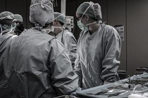 Operatietafel knieprothese