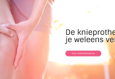 Nieuwe website met meer informatie over hemi knie prothesen